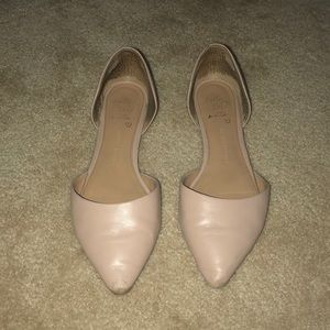 BR Nude Flats